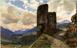 Wartturm Beim Schloss Tarasp - GR Graubünden