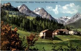 Schloss Tarasp Und Florins - GR Grisons