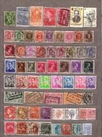 BELGIUM Used Gestempelt Oblitere Stamps Lot #8044 - Sammlungen