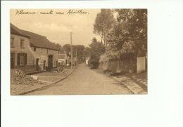 Villeroux La Chapelle Du Sacré Coeur  Et La Route D'Hévillers - Chastre
