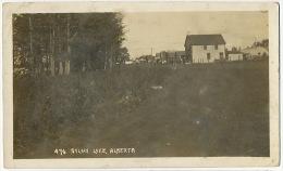 Real Photo 476 Sylvan Lake  P. Used 1912 Vers Lury Sur Arnon Cher France - Alberta