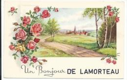 Un Bonjour De Lamorteau. - Rouvroy