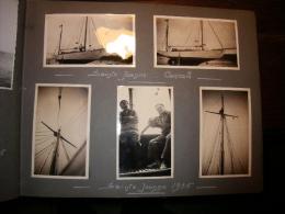 ALBUM DE PHOTOGRAPHIES + DE 280 SITUEES ET DATEES  COTE NORMANDE 1935 - Autres Collections