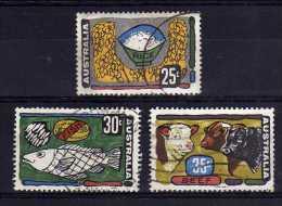 Australia - 1972 - Primary Industries (Part Set) - Used - 1966-79 Elizabeth II
