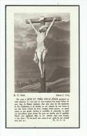 Décès Maurice EVERARD De HARZIR Docteur En Droit Né Château De Jemelle 1875 Décédé Bruxelles 1953 Adel Noblesse - Images Religieuses