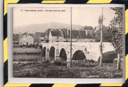 PORT-LESNEY. - . LE PONT PRIS EN AVAL - NON CIRCULEE - EXCELLENT ETAT - France