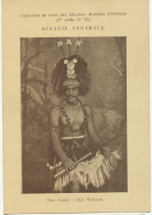 Ils Samoa Chef Samoan Soeurs Maristes - Samoa
