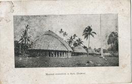 Ils Samoa Maison Indigene A Ajia Salie - Samoa