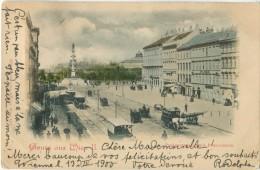 AUTRICHE AUSTRIA Gruss Aus Wien II 1900 Superbe Précurseur Attelages - Sin Clasificación