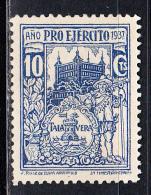 TALAVERA.1937.PRO EJERCITO .10 CTS.AZUL.NUEVO.SES 742 - Emissions Nationalistes