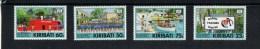 Postfris Mint Scott 591-594 Marine Training En Opleiding - Kiribati (1979-...)