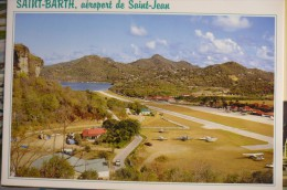 AEROPORT / FLUGHAFEN  / AIRPORT      SAINT BARTH  SAINT JEAN - Aerodromi