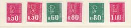 Timbre France Neufs - Roulette N° Rouge - 1664 B Au 1895 A - Roulettes