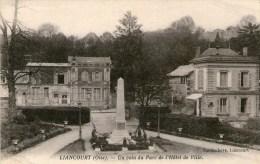 LIANCOURT - Un Coin Du Parc De L'Hôtel De Ville - - Liancourt