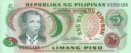 PHILIPPINES  5 Piso  Emission De 1980    Pick 160 B           ***** BILLET NEUF ***** - Philippines