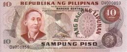 PHILIPPINES  10  Piso  Emission De 1978    Pick 161 A           ***** BILLET NEUF ***** - Filippine