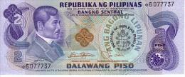 PHILIPPINES  2  Piso  Emission De 1981    Pick 166  Commémoratif Visite Du Pape       ***** BILLET NEUF ***** - Philippines