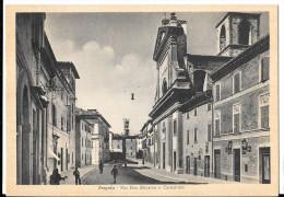 MARCHE-PESARO- PERGOLA VIA DON MINZONI E CATTEDRALE - Italia