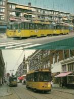 ROTTERDAM (Pays-BAS) Tramway Historique Rotterdamse Elektrische Tram (RET) Lot De 2 CPM Détails Sur Le 2ème Scan - Tramways
