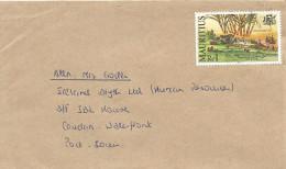 Mauritius 1998 400th Anniversary Dutch Landing Sugar Cane Domestic Cover - Mauritius (1968-...)
