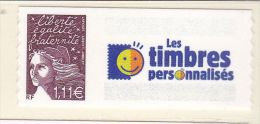 Timbre France Neufs - N° 3729 C Personnalisé Adhésif - Frankreich