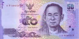 THAÏLANDE   50 Bath  Emission De 2011            ***** BILLET NEUF ***** - Thailand