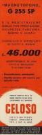 # RECORDER GELOSO ITALY 1950s Advert Pubblicità Publicitè Reklame Radio TV Registratore Recorder Grabadora Enregistreur - Radio & TSF