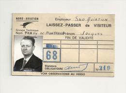 Laissez-passer De Visisteur - Documentos Históricos