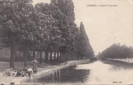 71 . Saone Et Loire :  Chagny : Canal Et Tranchée . - Chagny