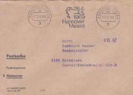 Postsache  -  Postscheckamt  3 Hannover     Germany.  # 101 # - BRD