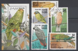 Animaux Sahara Occ. 1994 Serie+blok Oblitérés / Used / Gestempeld - Vogels