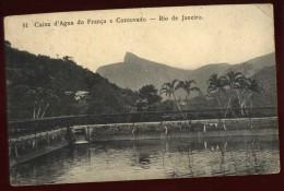Cpa Du Brésil Rio De Janeiro Caixa D´ Agua Do França E Corcovado   LAM21 - Rio De Janeiro