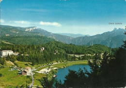 LAVARONE  TRENTO  Panorama Dell´Altipiano E Del Lago - Trento