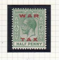 King George V - WAR TAX - 1859-1963 Crown Colony
