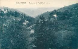 CASSANIOUZE ROUTE DE SAINT PROJET LA TRAVERSE CARTE BLEUE - Other Municipalities