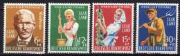 Saarland 1958 Mi 441-444 ** [160314IX] @ - Unused Stamps