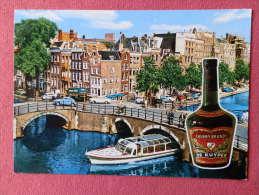 NED ,  Cpm AMSTERDAM , Grachten , De Kuyper  (119)Recto/Verso - Amsterdam