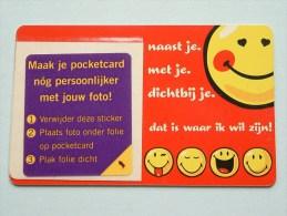 Hallmark ( 11 ) Gift / Wens Card / Smileys Pocketcard ( Formaat En Materiaal Idem Als Bankkaart ) !! - Cartes Cadeaux