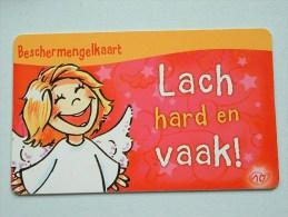 Beschermengelkaart ( Lach Hard En Vaak ) Pocketcard Gift / Wens ( Formaat En Materiaal Idem Als Bankkaart ) !! - Cartes Cadeaux