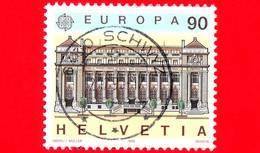 SVIZZERA - Usato - 1990 - Europa - Edifici Postali - Ginevra - Post Offices - 90 - Usati