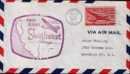 US Air Mail Cover - Luftpost