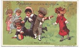 CRHOMO - CHOCOLAT GUERIN BOUTRON - La Partie De Ballon - Guerin Boutron