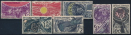 **Czechoslovakia 1965 Mi 1515-21 (7) Space Satellite Moon Sun MNH - Tschechoslowakei/CSSR