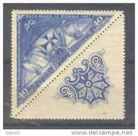 ES541B-L4139TGE.Spain Espagne.España.DESCUBRIMI ENTO DE AMERICA 1930 (Ed 541ba**)sin Charnela LUJO - Geografía