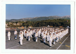 Photographie Musique Des équipage De La Flotte  De Toulon - Toulon