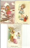 Lot De 3 Cartes Bonne Annee - Nouvel An