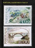 PORTUGAL    Scott  # 1348-9*  VF MINT LH - Unused Stamps