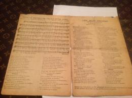Ancienne  Partition Musicales  Le Champs Du Retour - Partitions Musicales Anciennes