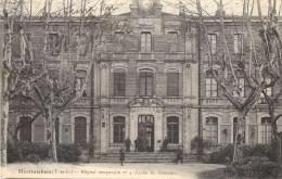 MONTAUBAN HOPITAL TEMPORAIRE N°4 LYCEE DE GARCONS HOPITAUX MILITAIRE GUERRE  82 - Montauban