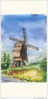 """""""Le Moulin Du Cat Sauvage - Ellezelles"""" Par Marcel DELHUVENNE Molen Mill (chambre Commerce D´industrie Du Tournaisis) - Ellezelles"""